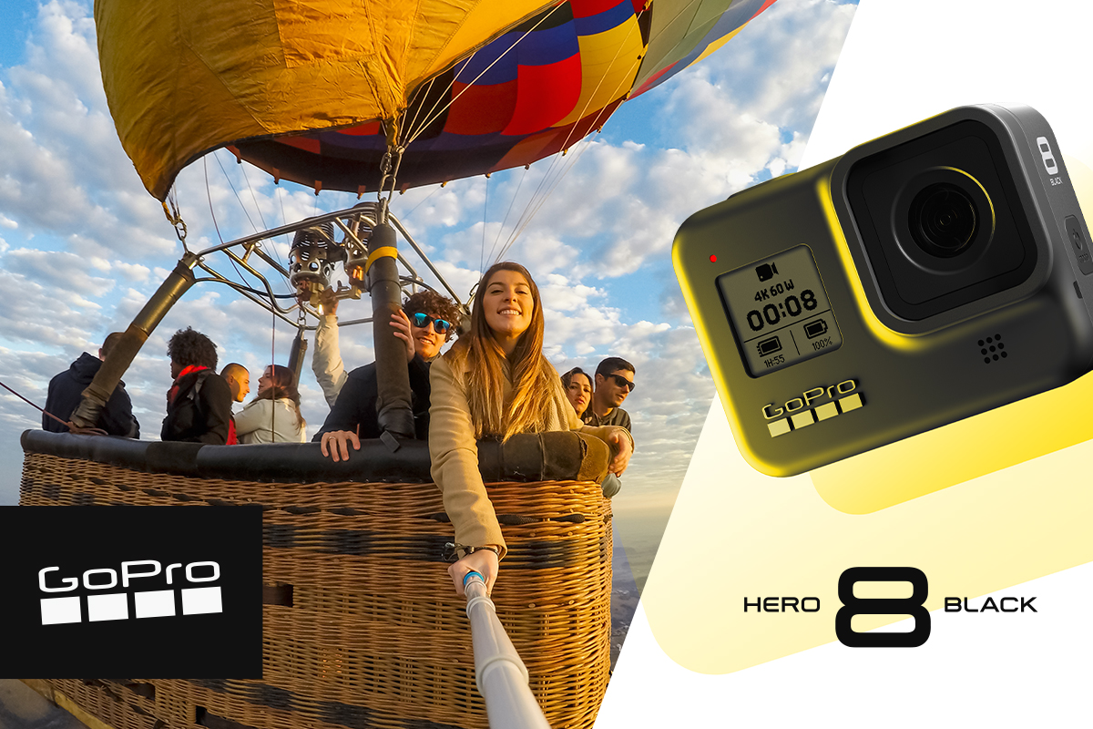 GoPro official sponsor of Down to Earth with Zac Efron
