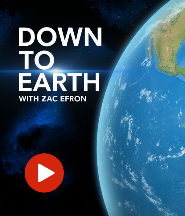 Down to Earth with Zac Efron Journey Animation